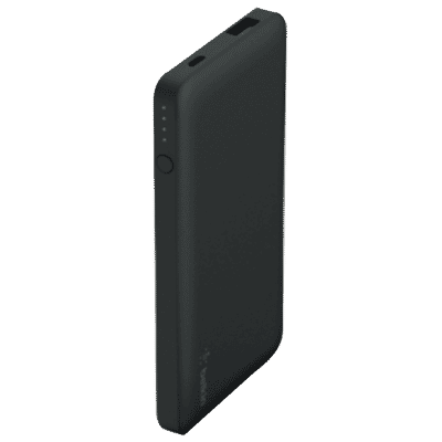 5,000 mAh Pocket Power Bank - Black