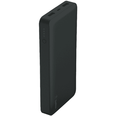 15,000 mAh Pocket Powerbank Black